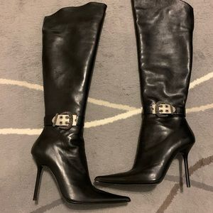 NWT Gianmarco Lorenzi knee high boots Size 38